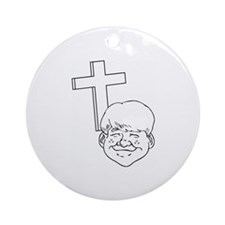 Christianity Ornament (Round)