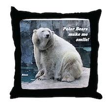 Rizzo makes me smile Throw Pillow