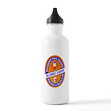 France Beer Label 9 Water Bottle