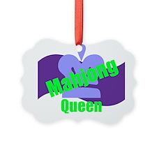 Mahjong Queen Ornament