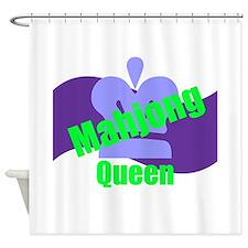 Mahjong Queen Shower Curtain