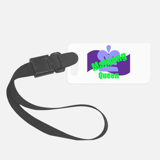 Mahjong Queen Luggage Tag