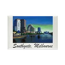 Southgate, Melbourne Rectangle Magnet