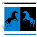 Horse Design Shower Curtain