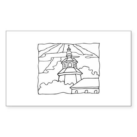 Christianity Sticker (Rectangle)