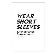 Wear short sleeves -  Postcards (Package of 8)