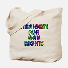 Straights for gay rights - Tote Bag