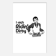 I ain't riding dirty -  Postcards (Package of 8)