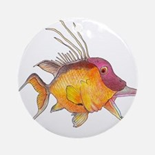 Hogfish Ornament (Round)