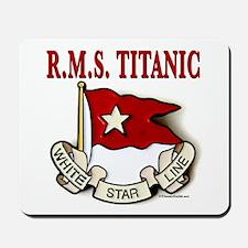 White Star Line: RMS Titanic Mousepad