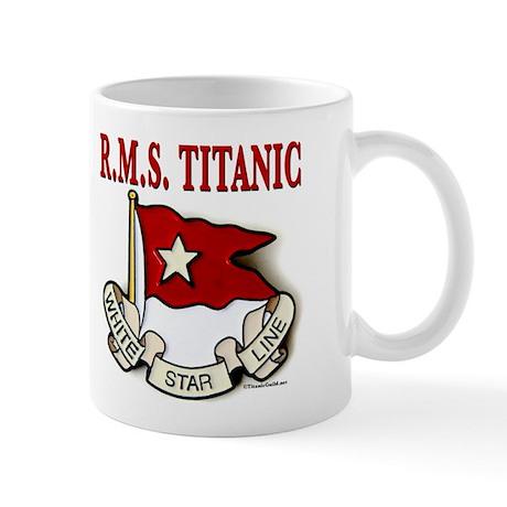White Star Line: RMS Titanic Mug