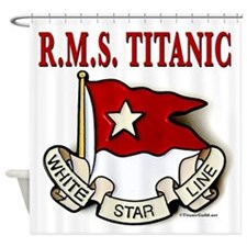 White Star Line: RMS Titanic Shower Curtain