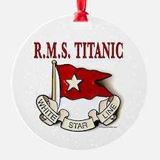 White Star Line: RMS Titanic Ornament