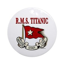 White Star Line: RMS Titanic Ornament (Round)