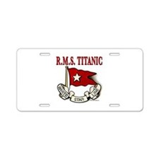 White Star Line: RMS Titanic Aluminum License Plat