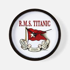 White Star Line: RMS Titanic Wall Clock
