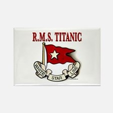 White Star Line: RMS Titanic Rectangle Magnet