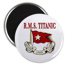 "White Star Line: RMS Titanic 2.25"" Magnet"