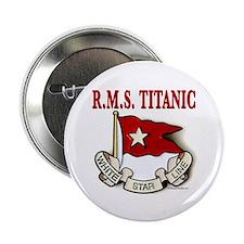 """White Star Line: RMS Titanic 2.25"""" Button"""