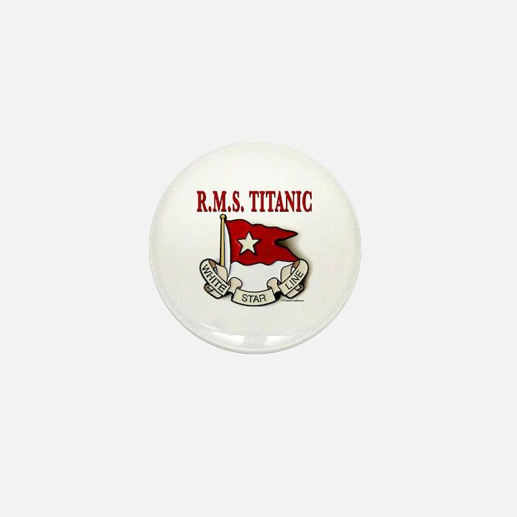 White Star Line: RMS Titanic Mini Button