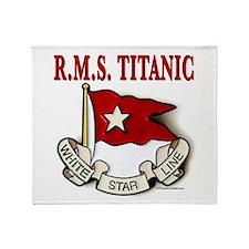 White Star Line: RMS Titanic Throw Blanket