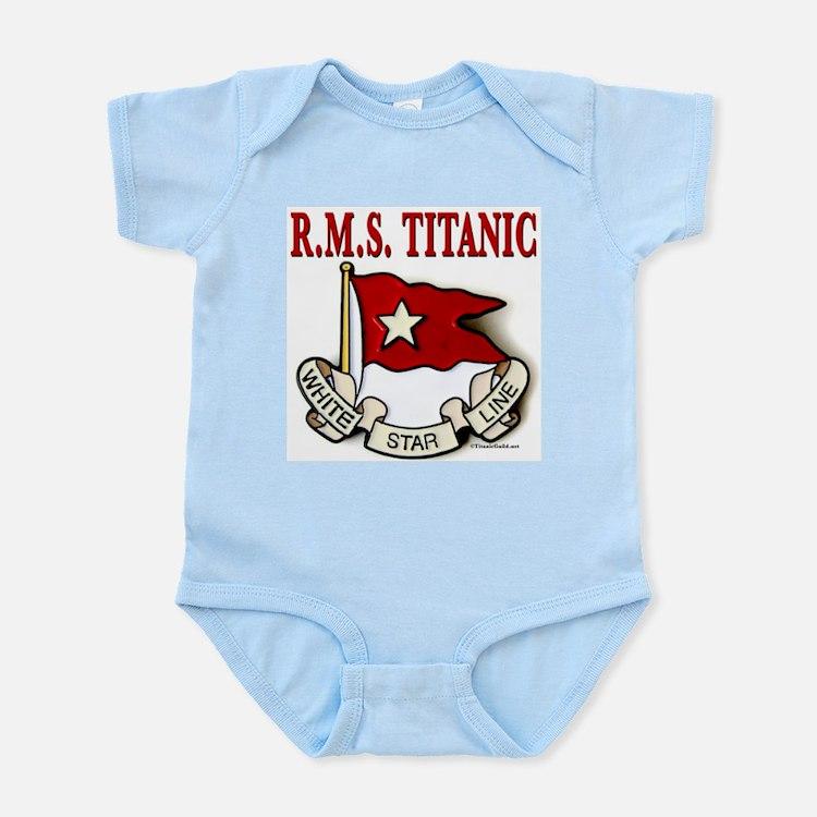 White Star Line: RMS Titanic Infant Bodysuit