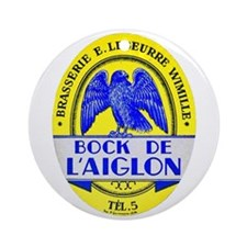 France Beer Label 2 Ornament (Round)