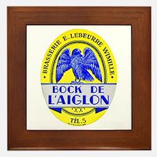 France Beer Label 2 Framed Tile