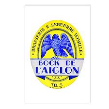 France Beer Label 2 Postcards (Package of 8)