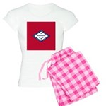Arkansas Flag Women's Light Pajamas