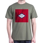 Arkansas Flag Dark T-Shirt