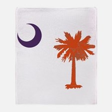 Cute Clemson Throw Blanket