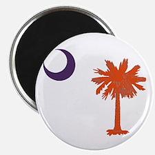 Unique South carolina palmetto Magnet
