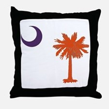 Cute Palmetto Throw Pillow