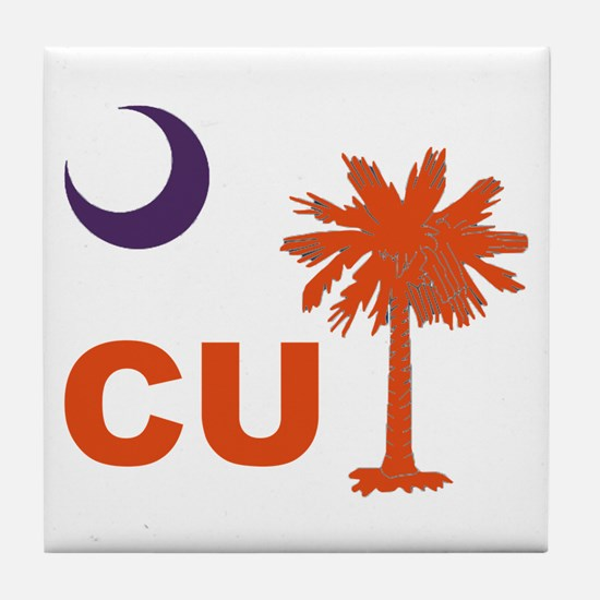 Unique Clemson Tile Coaster