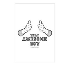 That awesome guy -  Postcards (Package of 8)