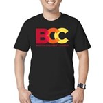 BCC Logo Men's Fitted T-Shirt (dark)