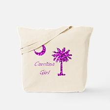 Carolina Girl Pink Tote Bag
