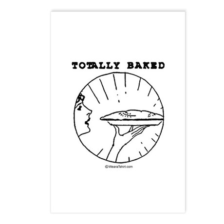 Totally baked - Postcards (Package of 8)