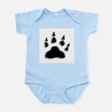 Polar Bear Print Infant Bodysuit