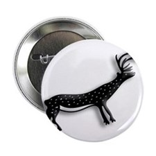 """Caribou on the Tundra 2.25"""" Button"""
