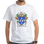 Jennings Coat of Arms White T-Shirt