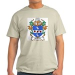 Jennings Coat of Arms Ash Grey T-Shirt