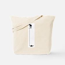 Eskimo Ice-Fishing Tote Bag