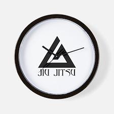 Jiu Jitsu.png Wall Clock