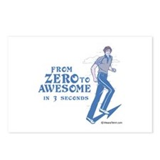 From Zero to Awesome -  Postcards (Package of 8)