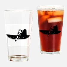 Eskimo in a Kayak Drinking Glass