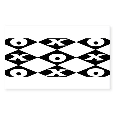 Tic Tac Toe Decal by foxysden1
