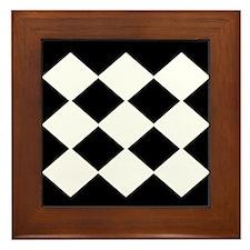 Tic Tac Toe Board Framed Tile