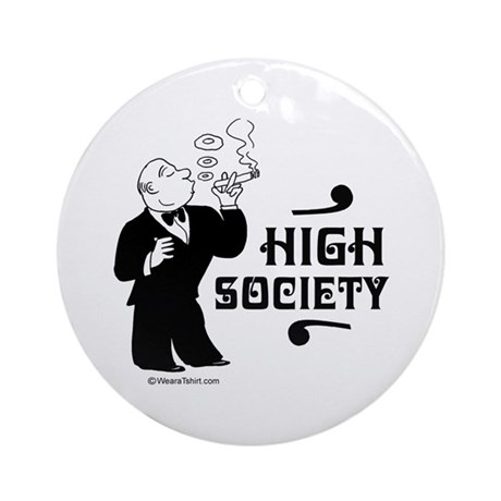 High Society - Ornament (Round)